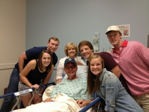Fechner Family before Mike's Surgery