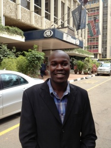 Peter at the Hilton Nairobi