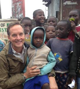 Mike with Children of Huruma