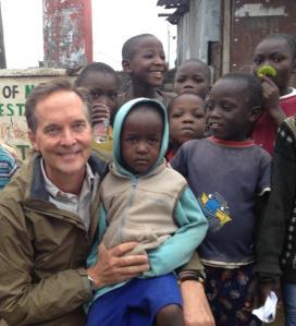 Mike with Children of Huruma